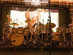 マクラフリンステージ ドラム