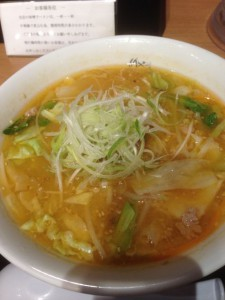 けやき味噌拉麺