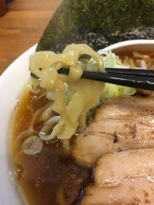 くじら食堂の麺