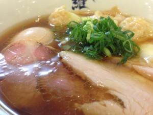麺や維新特醤油らぁ麺アップ