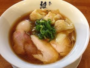 麺や維新特醤油らぁ麺