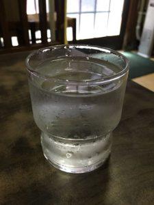 桔梗屋の水